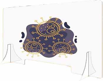 Pannello parafiato in plexiglass