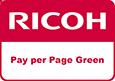 Logo cerificazione Ricoh Pay Per Page